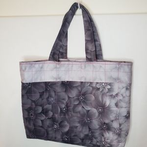 Hand sewn tote farmers market carry all bag